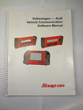 Snap On Volkswagen-Audi Scanner Vehicle Communication Software Manual 2004 Modis