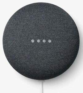 Google Nest Mini - 2nd Generation - Smart Bluetooth Speaker  Charcoal ✅UK Spec ✅