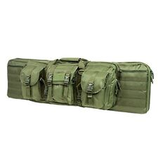 "NcStar VISM Tactical 42"" OD Green Padded Double Carbine Rifle Gun Case Bag"