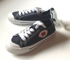 New Nwt - Gymboree - Size 11 - Football Sneaker - Navy Blue Shoe