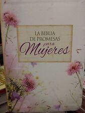 Biblia de Promesas - Letra Grande - Piel especial - Floral  reina valera 1960