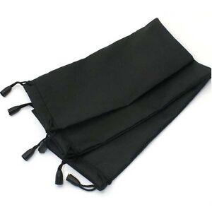 Portable Soft Microfibre Sunglasses Case Bag, Glasses Pouch & Cleaning Cloth UK