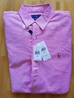 **NEU** Ralph Lauren POLO Hemd Shirt Herrenhemd Gr. Large  Slim Fit Shaped.
