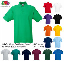 Girls' No Pattern Polo T-Shirts, Top & Shirts (2-16 Years)