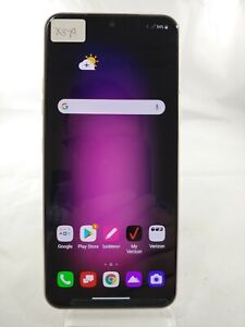 LG V60 ThinQ V600 128GB 5G Verizon Wireless Unlocked Smartphone Cell White X379