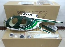 FUNKEY Scale fuselage Hughes 500D .60 (700) size Green Color with Landing Skid