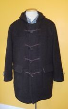 Vintage Benetton 80s Duffle Coat Jacket Men Size L
