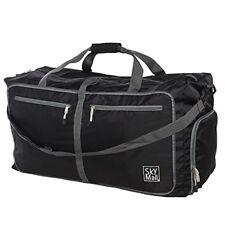 SkyMall Foldable Sports Gym Bag Travel Duffle Bag Lightweight Weekend Bag
