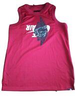 Nike Air Jordan 1 Jumpman Classic Wings Mesh Jersey Tank Top Men's M BQ8479-687