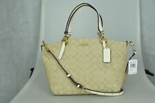 Coach SMALL KELSEY SATCHEL IN SIGNATURE JACQUARD Womens Bag