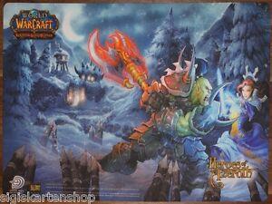 World of Warcraft Helden von Azeroth Spielmatte Playmat Upper Deck WOW