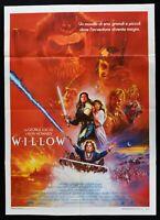 Werbeplakat Willow Star Treck Wars Lucas Howard Whalley Davis Barty M290