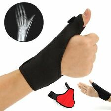 Black Medical Thumb Spica Splint Brace Wrist Support Stabiliser Sprain Arthritis