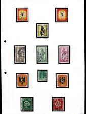 Berlin 1955 - 1990 ** + gest. Sammlung auf selbstgestalteten Seiten