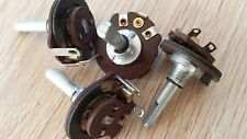 6x MINI concentrico orrecguitarparts 10k Ohm 2w Strato di Carbone Metallo asse circa 4mm