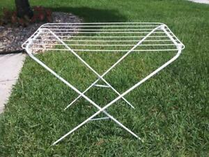 """IKEA JALL Drying rack Indoor Outdoor White Clothes Laundry ECO 31x16x32""""  NEW"""