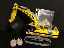 Lego 8043 Technic Power Functions Motorized Excavator Motorisierter Raupenbagger
