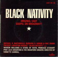 BLACK NATIVITY / GOSPEL ON BROADWAY NEGRO SPIRITUALS 45T EP PATHE ESDF 1460