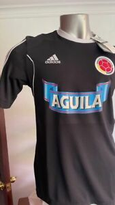 SELECCION COLOMBIA NATIONAL TEAM FCF TRAINING JERSEY LARGE ADIDAS