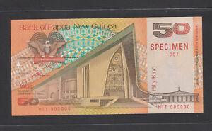 Papua New Guinea 50 Kina (1989) P11s SPECIMEN UNC