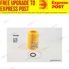 Wesfil Oil Filter WCO80 fits Toyota Land Cruiser 200 Series 4.5 D-4D (VDJ200)