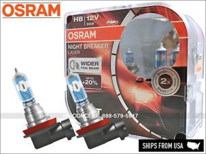 NEW! H8 OSRAM Night Breaker LASER (NBL) 64212NL Halogen Headlight +150% DOT