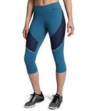 5ea58e2c19da Nike Power Legendary Capri Pocket Tennis Legging XS Blue Solid Tight Pant  Crop