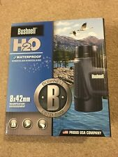 Bushnell H2O Binocluars│8x 42mm│BaK-4 Roof Prisms│Fog Free View│100% Waterproof