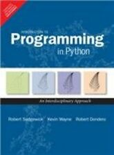 New-Introduction to Programming in Python by  SEDGEWICK DONDERO 1ed *INTL*