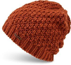Dakine ZOE Womens 100% Acrylic Novelty Knit Beanie Redearth NEW Sample