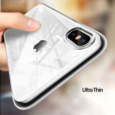 NUOVO-TRASPARENTE POSTERIORE MORBIDO TRASPARENTE Telefono Custodia Cover-Apple XS XR XS X MAX