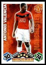 Match Attax 2009-10 Antonio Valencia Manchester United No. 226