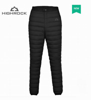 Unisex matt soft nylon pants new wet-look down trousers bottoms britches XS-3XL