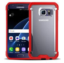 Samsung Galaxy Case Shock-Absorption Bumper Anti Scratch Clear Back Ultra Thin
