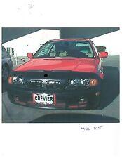 Colgan Front End Mask Bra 2pc. Fits BMW 325Ci 2001-2003 W/O License Plate