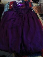 new look 14 purple prom /party dress