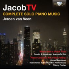 Jacob TV: Complete Solo Piano Music (US IMPORT) CD NEW