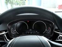 Kohlefaser Stil Dashboard Dekoration Rahmen Trim Für BMW 5 Serie G30 2017-18