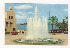Alicante Plaza del Mar Fuente Luminosa Postcard Spain 557a