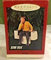 Hallmark Keepsake Ornament Star Trek Captain James T Kirk  1995