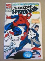 Amazing Spider-Man #358 Marvel Comics 1963 Series Punisher app 9.2 Near Mint-