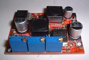 Auto buck/boost regulator ,Constant current/voltage 5-32v 3A  UK Seller