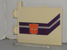 G1 TRANSFORMER POWERMASTER OPTIMUS PRIME TRAILER SIDE PANEL LOT # 1