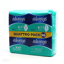 Always Ultra Normal Plus Sanitary Pads with Wings Quattro Pack x 56