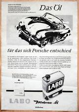 "orginal Porsche Plakat Werbe Poster ""Porsche 356"" von 1956 Grafik Strenger rare"