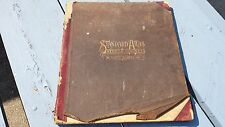 Antique 1911 Standard Atlas Steele County North Dakota Finley Hope Sharon