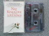 NAT KING COLE - 20 GREATEST LOVE SONGS -  ALBUM - CASSETTE TAPE