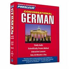 Pimsleur German Conversational Course - Level 1 Lessons 1-16 CD: Learn to Speak