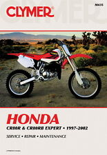Honda CR80 CR80R CR80RB Expert 1997-2002 Clymer Workshop Manual M435 NEW