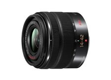 Panasonic LUMIX G VARIO 14-42mm/F3.5-5.6 II O.I.S. Lens (Black) -Bulk Package